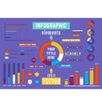 Infographics vector image vector image