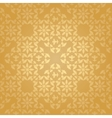 seamless floral gold background vector image vector image