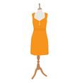 Summer dress vector image