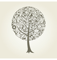 Tree the tool vector image vector image