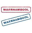 Warrnambool Rubber Stamps vector image vector image