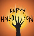 wolf halloween vector image vector image