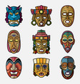 african craft voodoo tribal mask and inca south