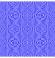 Design seamless cornflower blue knitted pattern vector image