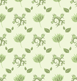gentle green seamless pattern vector image vector image