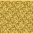 gold glitter background yellow sand texture vector image vector image