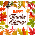 Happy thanks giving frame with lettering