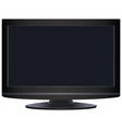 lcd screen vector image vector image