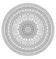 mandala stroke bohemian pattern creative vector image