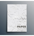 paper texture background design for wallpaper vector image vector image