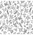 pattern with branches vector image