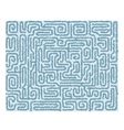 Seamless labyrinth background vector image