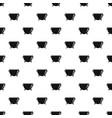 kitchen cauldron pattern seamless vector image