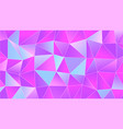 pastel bright iridescent low poly backdrop design vector image vector image