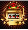 slot machine vector image vector image