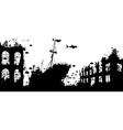 Wreckage reef vector image vector image
