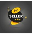 Best seller badge flat vector image