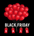 black friday sale concept background realistic vector image