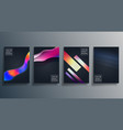 colorful gradient texture design for wallpaper vector image