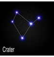 Crater Constellation with Beautiful Bright Stars