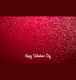glitter light red holiday abstract background for vector image vector image