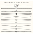 nautical dividers set vector image vector image