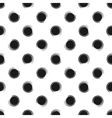 Abstract seamless pattern of grunge polka dots vector image