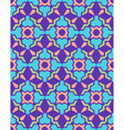 Abstract geometric blue violet green pink seamless