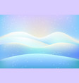 background template with wavy lines on blue vector image vector image