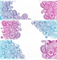 Beautiful Indian paisley vector image vector image