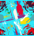 Bright abstract colored seamless pattern