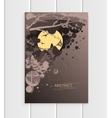 Brochure design business template nature element