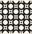 geometric texture monochrome seamless pattern vector image vector image