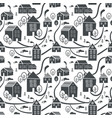 northern town seamless pattern for winter new vector image vector image