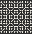 geometric seamless pattern monochrome texture vector image vector image