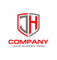 jh logo vector image