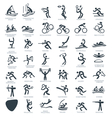 Olympics Icon Pictograms Set 3 vector image vector image