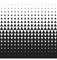 seamless black and white morphing triangle vector image vector image