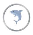 Shark icon cartoon Singe animal icon from the big vector image