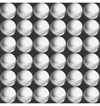 Silver pearls digital seamless pattern vector image