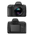 SLR Camera vector image vector image