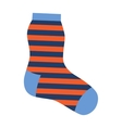 Sock icon vector image vector image