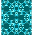 abstract geometric blue seamless pattern vector image
