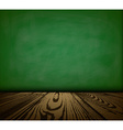 Background with blackboard vector image