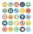 Education Flat Icons 2 vector image vector image