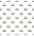 equalizer on monitor pattern seamless vector image vector image