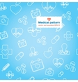 Medical and Healthcare flat icon set vector image
