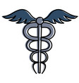 medical symbol isolated icon vector image vector image
