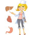 Nurse or doctor vector image vector image