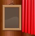 portrait frame vector image vector image